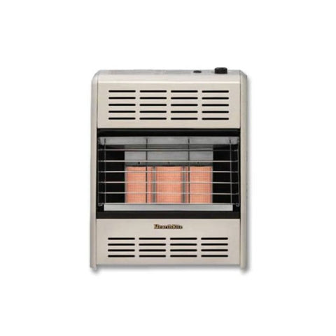 "Empire 23.25"" Thermostat 15,000 BTU HearthRite Vent-Free Infrared Heater - US Fireplace Store"