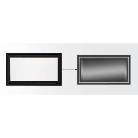 Majestic Clean Face Front for Echelon II Direct Vent Fireplace - US Fireplace Store