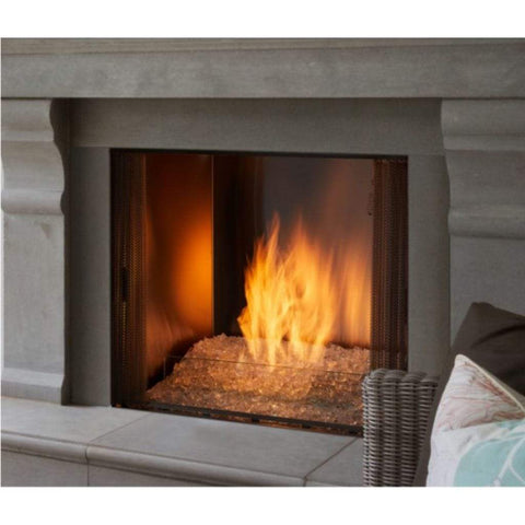 Majestic Contemporary Hearth Kit for Courtyard Outdoor Fireplaces - US Fireplace Store