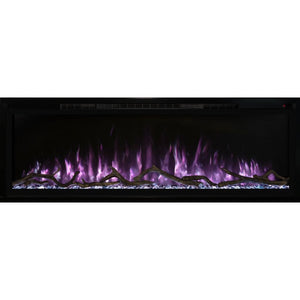 "Modern Flames 100"" Spectrum Slimline Wall Mount/Recessed Electric Fireplace - US Fireplace Store"