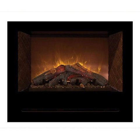 "Modern Flames 36"" Home Fire Custom Built-in Electric Firebox - US Fireplace Store"