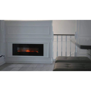 "Modern Flames 40"" Slim Fire No Heat Built-In/Wall Mounted Electric Fireplace - US Fireplace Store"
