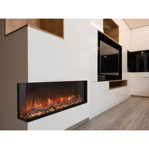 "Modern Flames 56"" Landscape Pro Multi-Sided Built In Electric Fireplace - US Fireplace Store"