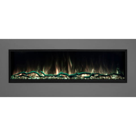 "Modern Flames 56"" Landscape Pro Slim Built In Electric Fireplace - US Fireplace Store"