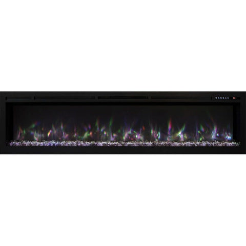 "Modern Flames 74"" Spectrum Linear Built-in Electric Fireplace - US Fireplace Store"