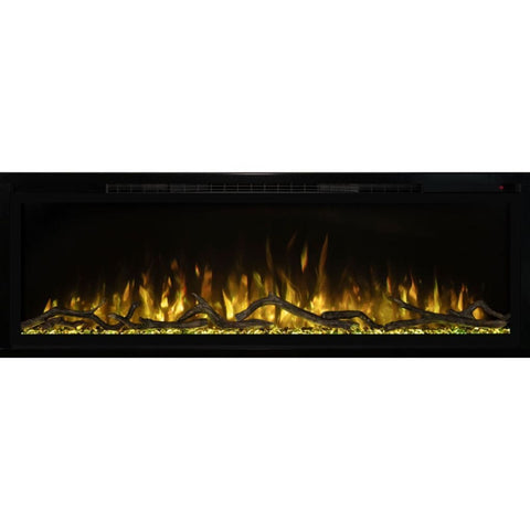 "Modern Flames 74"" Spectrum Slimline Wall Mount/Recessed Electric Fireplace - US Fireplace Store"