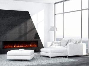 "Modern Flames 80"" Landscape FullView 2 Built In Electric Fireplace - US Fireplace Store"