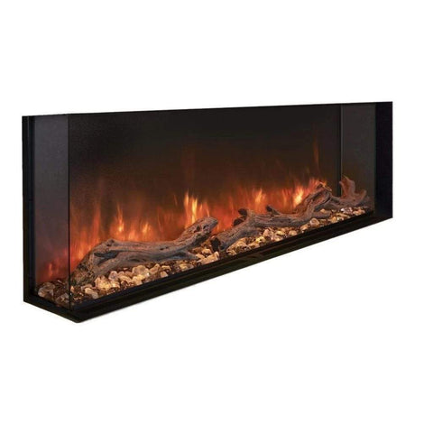 "Modern Flames 80"" Landscape Pro Multi-Sided Built In Electric Fireplace - US Fireplace Store"