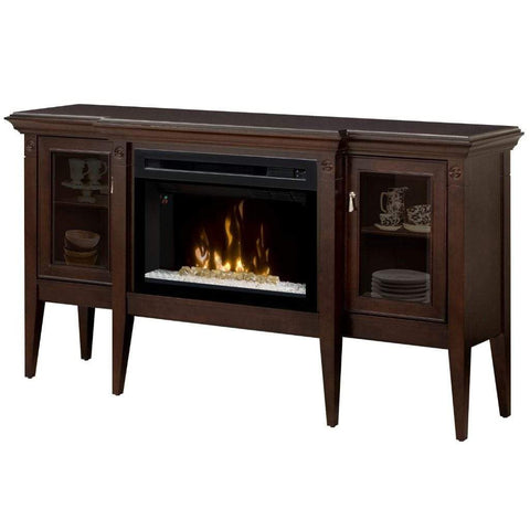 "Dimplex Upton 64"" Mantel with 25"" Electric Firebox - US Fireplace Store"