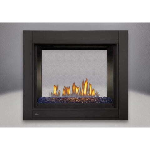 "Napoleon Ascent 45"" Multi-View Direct Vent See-Thru Gas Fireplace with Glass Bed - US Fireplace Store"