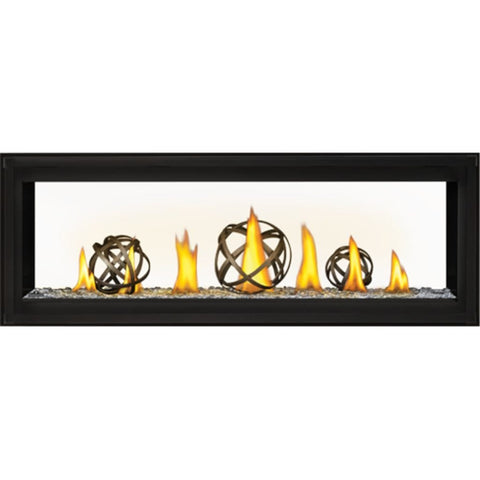 "Napoleon Luxuria 50"" See-Through Linear Direct Vent Gas Fireplace - US Fireplace Store"