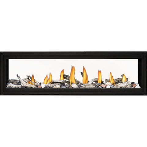 "Napoleon Luxuria 62"" See-Through Linear Direct Vent Gas Fireplace - US Fireplace Store"