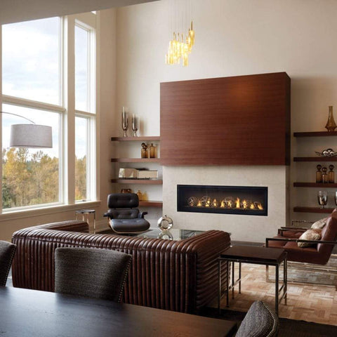 "Napoleon Luxuria 62"" Single Sided Linear Direct Vent Gas Fireplace - US Fireplace Store"