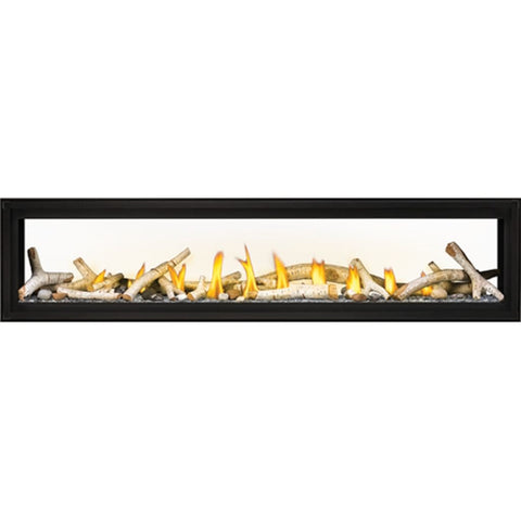 "Napoleon Luxuria 74"" See-Through Linear Direct Vent Gas Fireplace - US Fireplace Store"