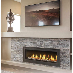 "Napoleon Vector 50"" Single Sided Linear Direct Vent Gas Fireplace - US Fireplace Store"