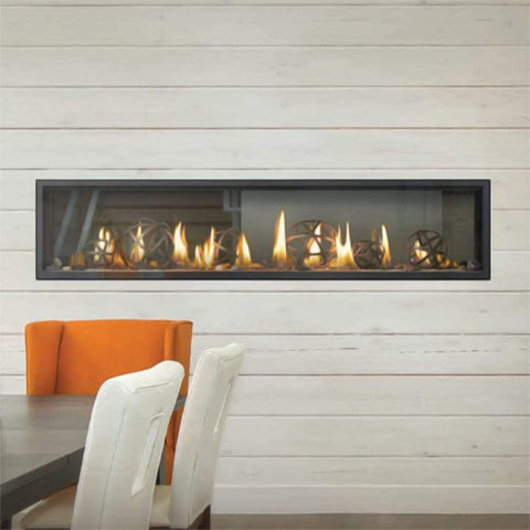 "Napoleon Vector 74"" See-Through Linear Direct Vent Gas Fireplace - US Fireplace Store"