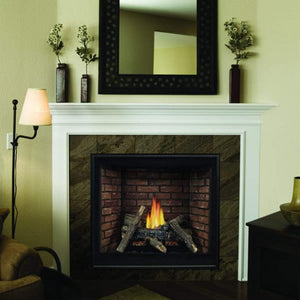 "Empire 32"" Tahoe Clean-Face Direct-Vent Traditional Fireplace Premium - IP Control with On/Off Switch - US Fireplace Store"