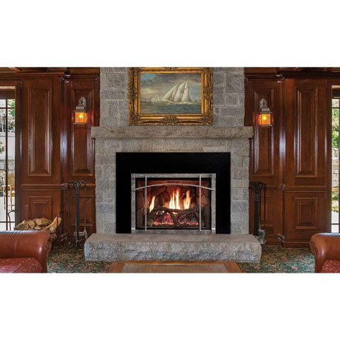 "Empire 35"" Rushmore Clean Face Direct Vent Fireplace Insert - US Fireplace Store"