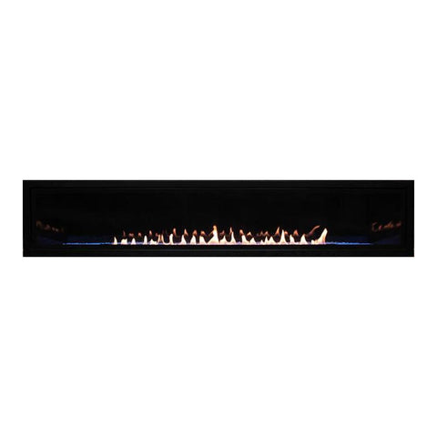 "Empire 72"" Boulevard Vent-Free Linear Gas Fireplace - US Fireplace Store"