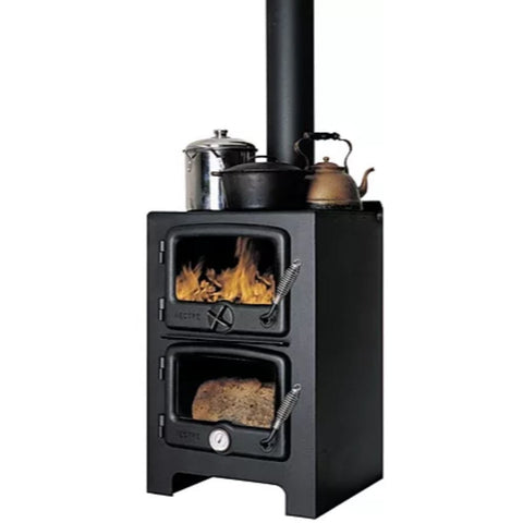 Nectre N350/ N350W Wood Burning Stove/ Oven & Heater - US Fireplace Store