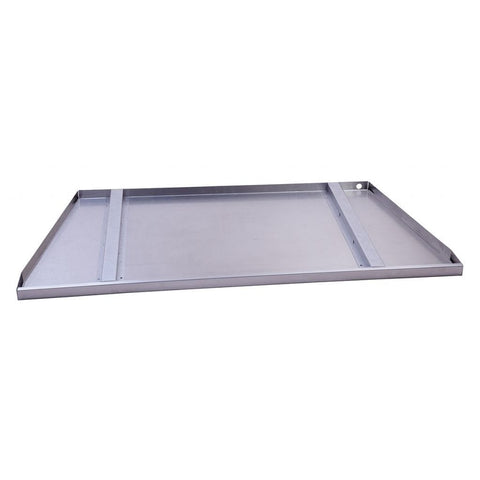 "Empire Carol Rose 48/60"" Linear Stainless Steel Drain Tray Fire Pit Accessory - US Fireplace Store"