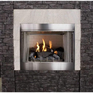 "Empire Carol Rose 36"" IP, 50K BTU Outdoor Traditional Premium Fireplace - US Fireplace Store"