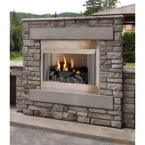 "Empire Carol Rose 36""Millivolt, 50K BTU Outdoor Traditional Premium Fireplace - US Fireplace Store"