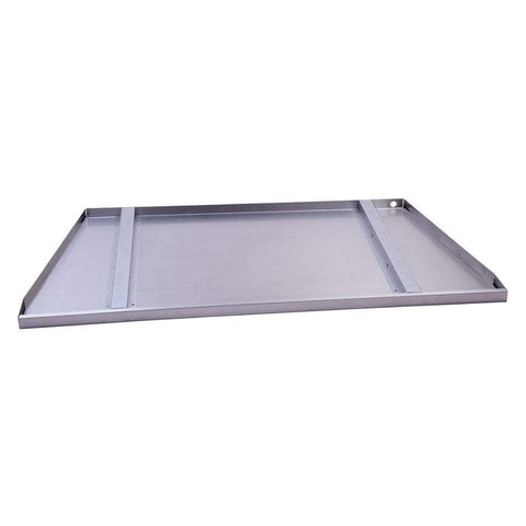 "Empire Carol Rose 42"" Stainless Steel Drain Tray Premium Outdoor Firebox Accessories - US Fireplace Store"