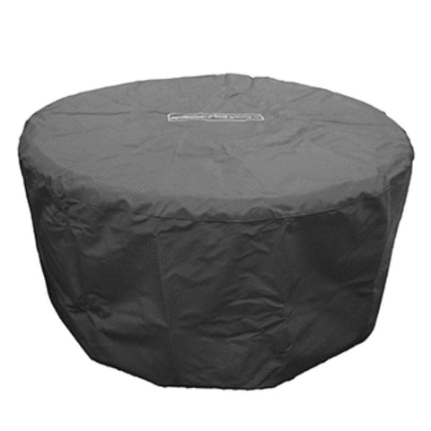 American Fyre Designs 48″ Round Firetable Cover Protective Fabric Covers - US Fireplace Store