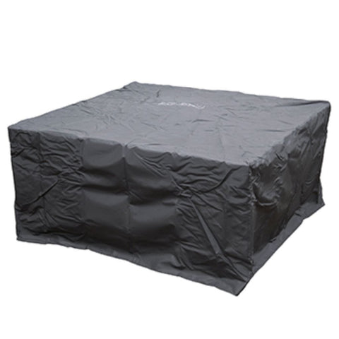 American Fyre Designs 60″ Square Firetable Cover Protective Fabric Covers - US Fireplace Store