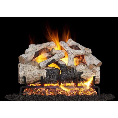 "Real Fyre 18"" Burnt Aspen Gas Log Set - US Fireplace Store"