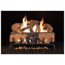 "Real Fyre 18"" Charred Angel Split Oak Gas Log Set - US Fireplace Store"