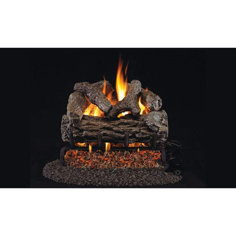 "Real Fyre 18"" Golden Oak Gas Log Set - US Fireplace Store"