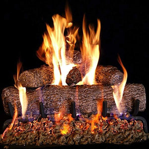 "Real Fyre 18"" Live Oak Log Set (Natural Gas Only) - US Fireplace Store"
