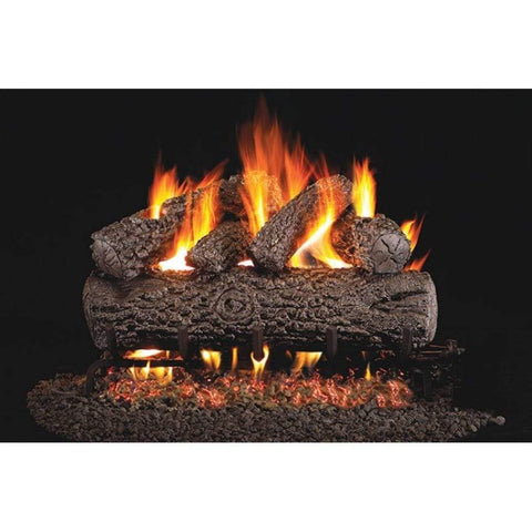 "Real Fyre 18"" Post Oak Gas Log Set - US Fireplace Store"