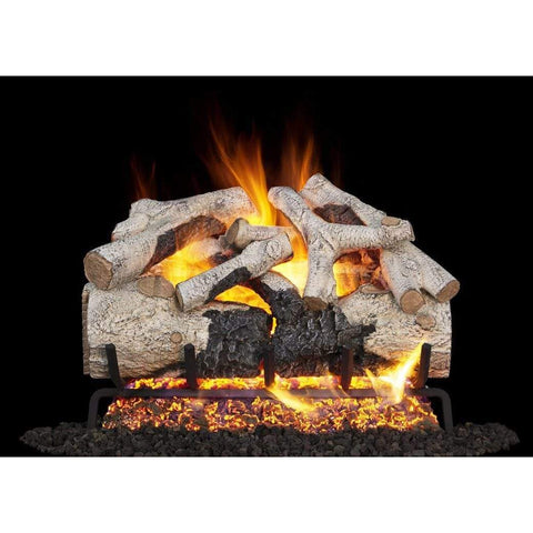 "Real Fyre 24"" Burnt Aspen Gas Log Set - US Fireplace Store"