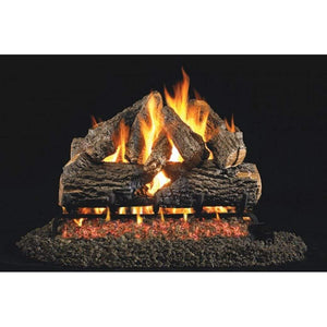"Real Fyre 24"" Charred Oak Gas Log Set - US Fireplace Store"