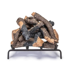 "Real Fyre 24"" Charred Oak Stack Gas Log Set - US Fireplace Store"