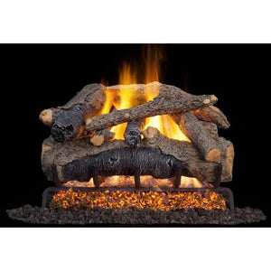 "Real Fyre 24"" Colonial Oak Gas Log Set - US Fireplace Store"