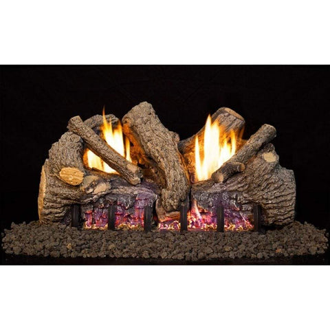 "Real Fyre 24"" Foothill Oak Gas Log Set - US Fireplace Store"