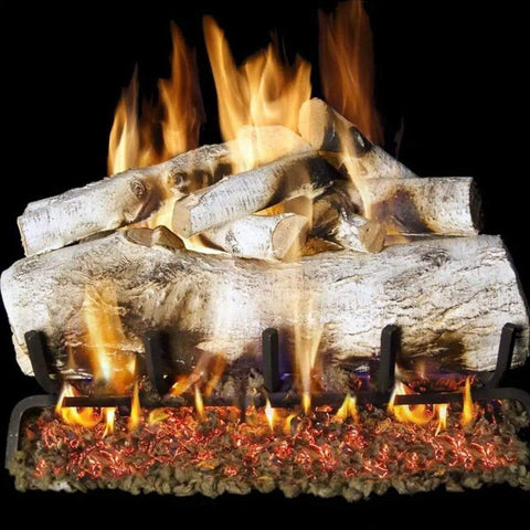 "Real Fyre 24"" Mountain Birch Gas Log Set - US Fireplace Store"