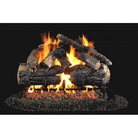 "Real Fyre 24"" Pioneer Oak Gas Log Set - US Fireplace Store"
