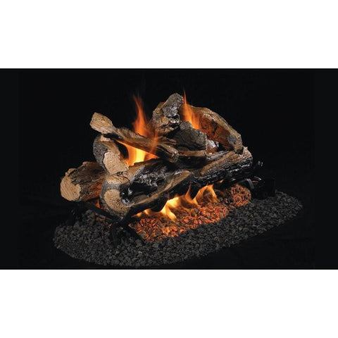 "Real Fyre 24"" Rugged Split Oak Gas Log Set - US Fireplace Store"