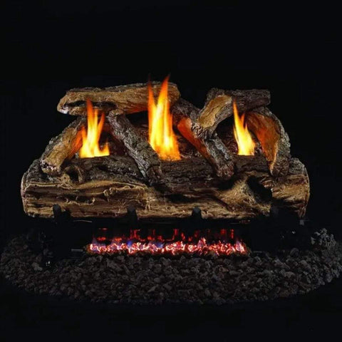 "Real Fyre 24"" Split Oak Gas Log Set (Compatible with G9 Burner Only) - US Fireplace Store"