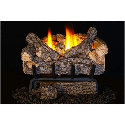 "Real Fyre 24"" Valley Oak Gas Log Set - US Fireplace Store"
