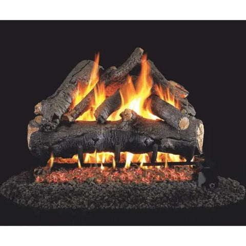 "Real Fyre 30"" American Oak Gas Log Set - US Fireplace Store"
