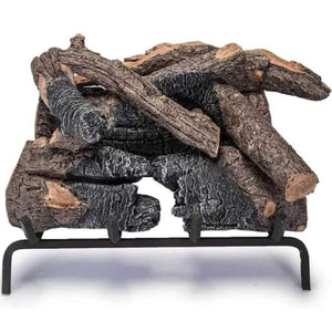"Real Fyre 30"" Charred American Oak Gas Log Set - US Fireplace Store"