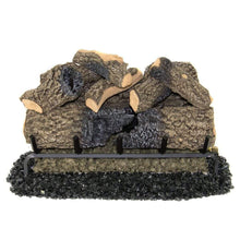 "Real Fyre 30"" Charred Oak Gas Log Set - US Fireplace Store"