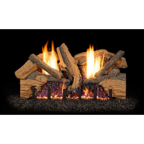 "Real Fyre 30"" Foothill Split Oak Gas Log Set - US Fireplace Store"