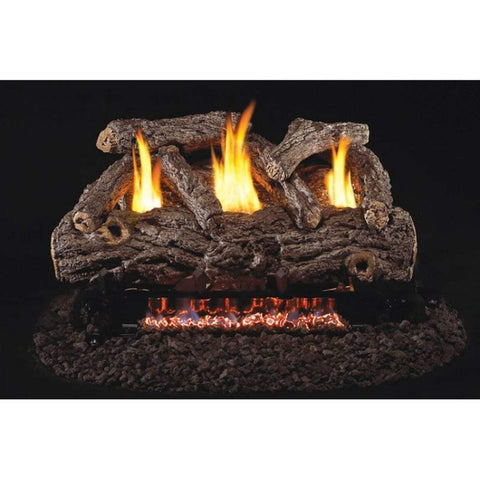 "Real Fyre 30"" Golden Oak Designer Gas Log Set - US Fireplace Store"